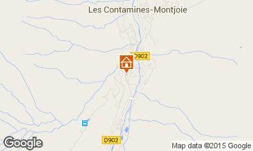 Mapa Les Contamines Montjoie Estudio 50448