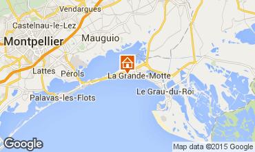 Mapa La Grande Motte Estudio 70839