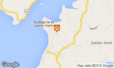 Mapa Sainte Anne (Martinique) Estudio 30963