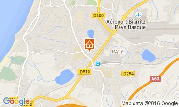 Mapa Biarritz Apartamento 89087
