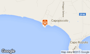 Mapa Isola di Capo Rizzuto Apartamento 54877