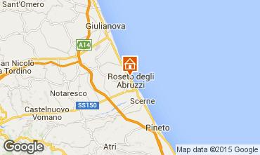 Mapa Roseto degli Abruzzi Apartamento 63806