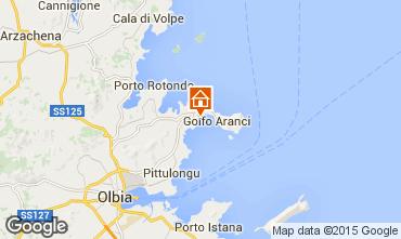 Mapa Golfo Aranci Apartamento 78489