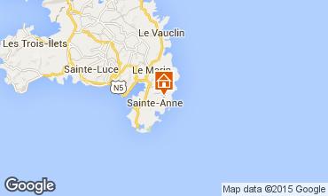 Mapa Sainte Anne (Martinique) Villa 8120