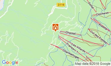 Mapa Les Arcs Estudio 116977