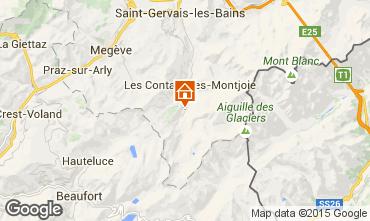 Mapa Les Contamines Montjoie Apartamento 951