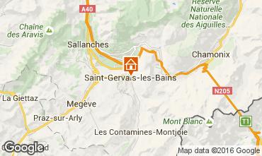 Mapa Saint Gervais Mont-Blanc Estudio 103150