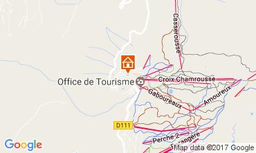 Mapa Chamrousse Apartamento 108056