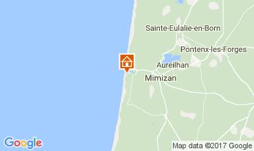Mapa Mimizan Apartamento 112735
