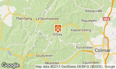 Mapa Orbey Apartamento 68479