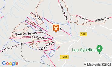 Mapa La Toussuire Apartamento 111695