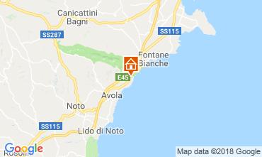 Mapa Avola Villa 116152