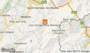 Mapa Les Contamines Montjoie Chalet 930