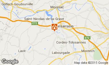 Mapa Moissac Casa 83900
