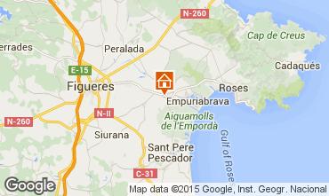 Mapa Ampuriabrava Casa 101761