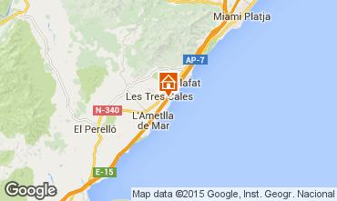 Mapa La Ametlla de Mar Chalet 77819