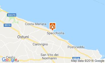 Mapa Ostuni Villa 94356
