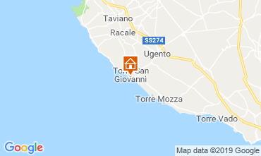 Mapa Ugento - Torre San Giovanni habitación de huéspedes 118712