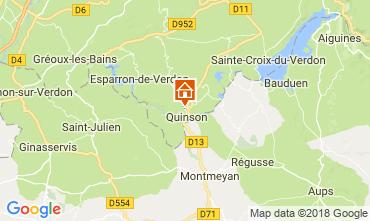 Mapa Sainte-Croix-du-Verdon Villa 114381