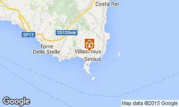 Mapa Villasimius Apartamento 72288