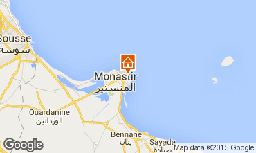 Mapa Monastir Apartamento 69470
