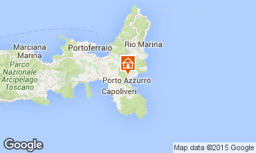 Mapa Porto Azzurro Apartamento 66430