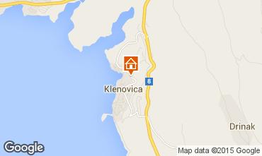 Mapa Klenovica Apartamento 76573