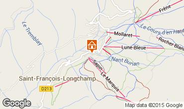 Mapa Saint François Longchamp Apartamento 73582