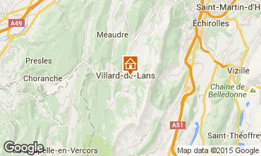 Mapa Villard de Lans - Corren�on en Vercors Apartamento 101393