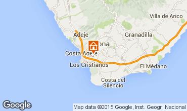 Mapa Los Cristianos Apartamento 5064