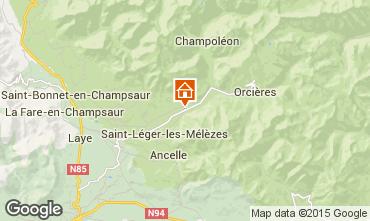 Mapa Saint L�ger les M�l�zes Apartamento 99870
