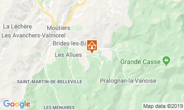 Mapa Courchevel Chalet 106839
