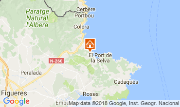 Mapa El Port de la Selva Casa 113323