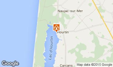 Mapa Hourtin Apartamento 10882