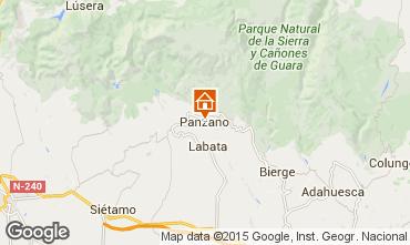 Mapa Alquézar Casa rural 75993