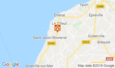 Mapa Saint-Jouin-Bruneval habitación de huéspedes 119604