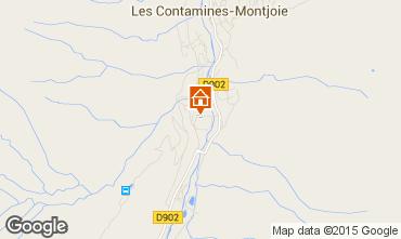 Mapa Les Contamines Montjoie Apartamento 927