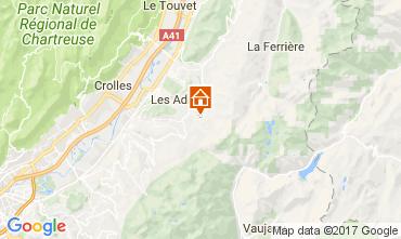 Mapa Les Sept Laux Apartamento 112719