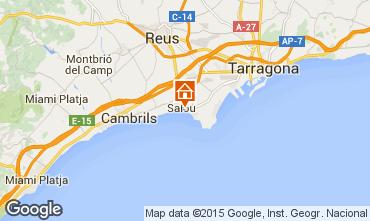 Mapa Salou Apartamento 94659