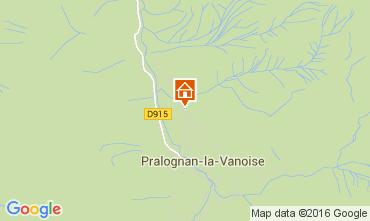Mapa Pralognan la Vanoise Apartamento 103987