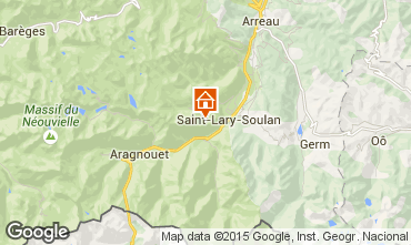 Mapa Saint Lary Soulan Estudio 4428
