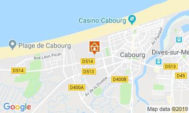 Mapa Cabourg Apartamento 69525