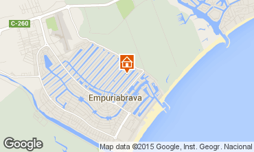 Mapa Ampuriabrava Villa 68863