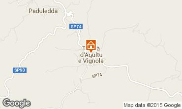 Mapa Trinità d'Agultu e Vignola Apartamento 93642