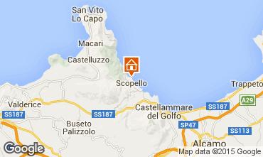 Mapa Scopello Villa 51889