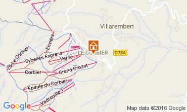 Mapa Le Corbier Apartamento 106400