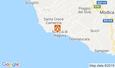 Mapa Marina di Ragusa Apartamento 34177