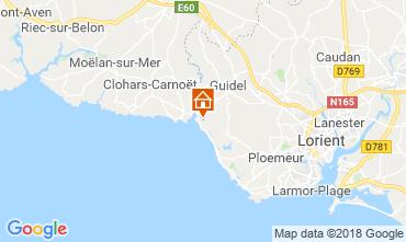 Mapa Guidel - Guidel Plage Casa rural 76206