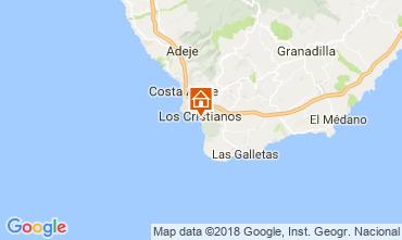 Mapa Los Cristianos Apartamento 113441