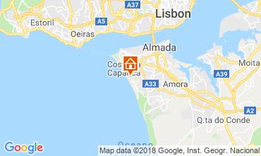 Mapa Caparica Villa 116278